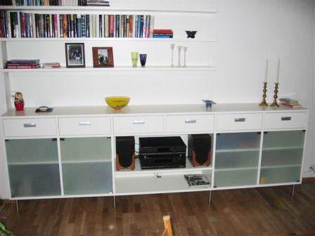 Oppbevaring i stue